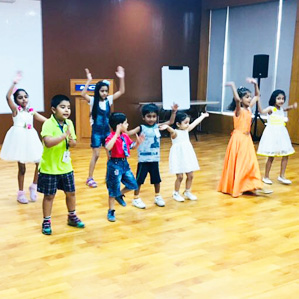 dance classes for children at The Banyan day care